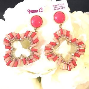 Jewelry - Summer Earrings coral colors